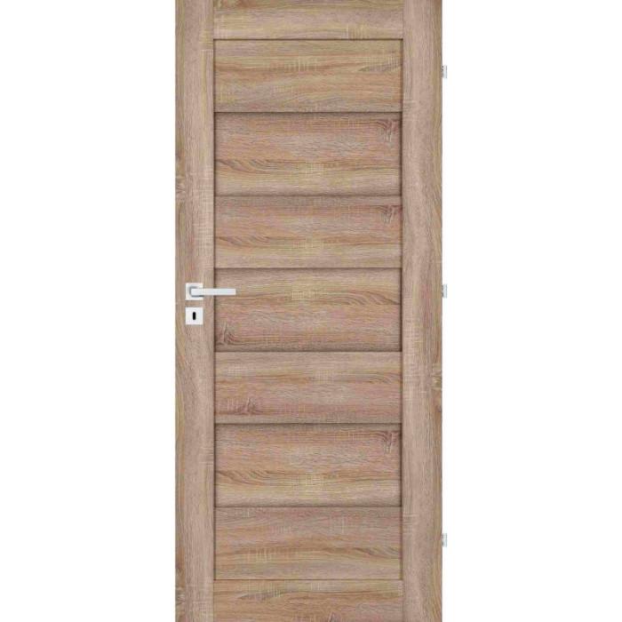 EVERHOUSE Interiérové dveře MODENA 3/0 SONOMA 80 L BB CZ 80/197 SONOMA 3D GREKO