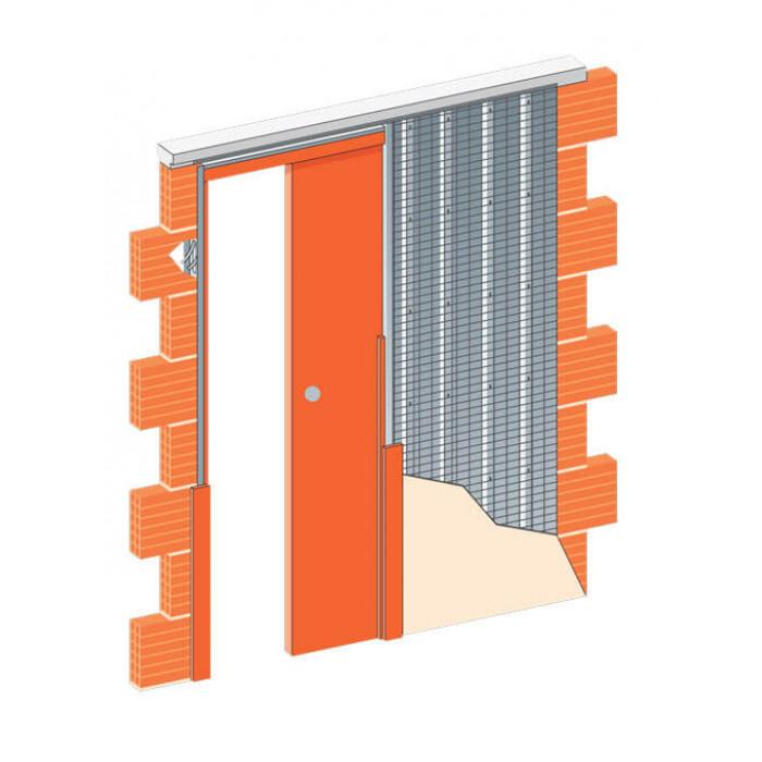 JAP Stavební pouzdro 705 NORMA STANDARD 700 mm do zdi