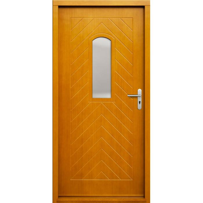 ERKADO Venkovní vchodové dveře P54
