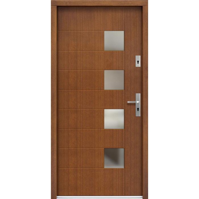 ERKADO Venkovní vchodové dveře P74