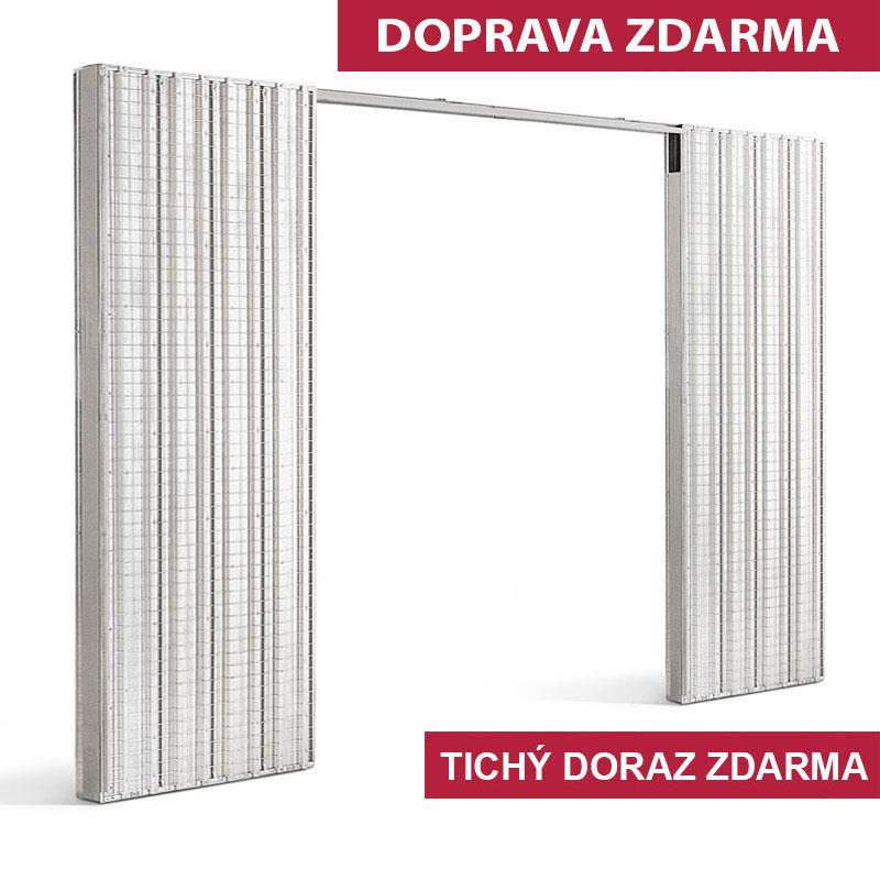 ERKADO Stavební pouzdro dvoukřídlé do ZDI 2x600x1970 mm