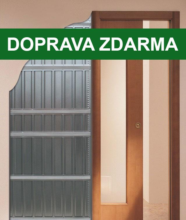 SCRIGNO Stavební pouzdro SCRIGNO Stech jednokřídlé do ZDI 600x1970 mm